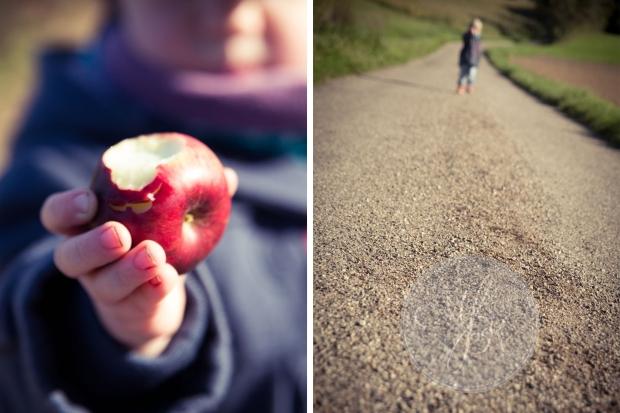 Maja liebt Äpfel