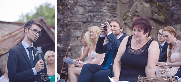 Freie Trauung Schloss Aschhausen Hochzeit 2015 Geli und Mauri Fotografin Michaela Klose