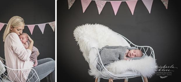 Neugeborenenfootgrafie zu Hause - Homestory