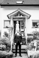 First Look Reportage wunderschoen Reportage Hochzeit Foto Hochzeitsfotografin Michaela Klose Paarfotos