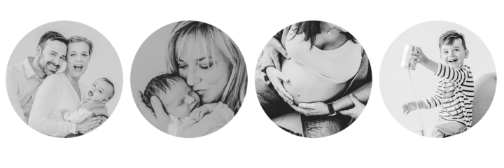 Neue Homepage für Babyfotografie // kleiner Nordfuchs istgeboren